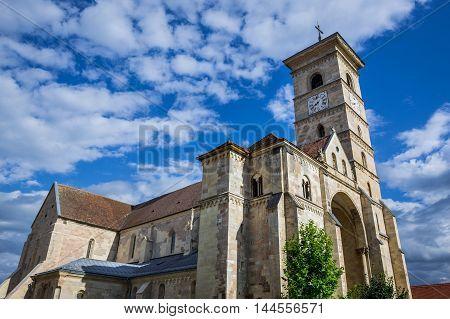 St. Michael's Cathedral in Citadel of Alba Iulia city in Romania