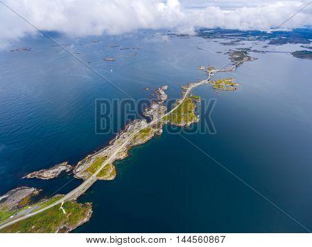 Atlantic Ocean Road or the Atlantic Road (Atlanterhavsveien) been awarded the title as