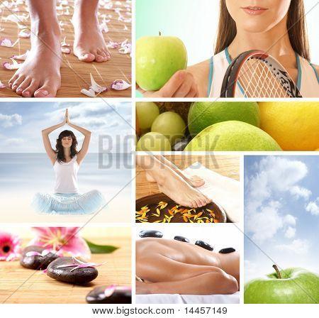 Gesundes Leben-Konzept