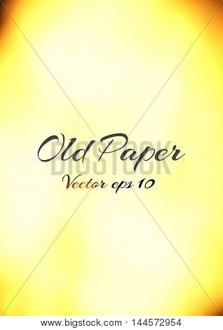 Old vintage paper texture, vector illustration eps