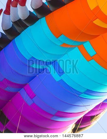 Abstract Elements Of Kite For Background