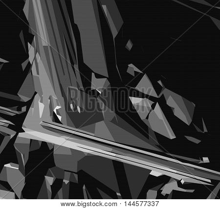 black and white painting abstract texture background