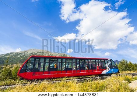Cable Railway In High Tatras, Slovakia