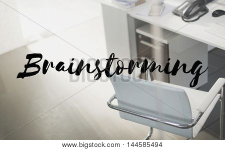 Brainstorming Strategy Think Learn Ideas Concept