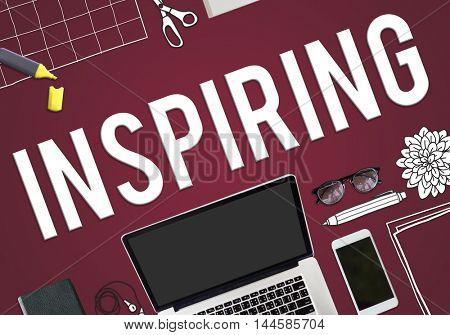 Inspiring Inspire Inspiration Motivate Creativity Concept