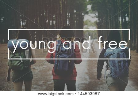 Travel Yolo Sightseeing Young Concept
