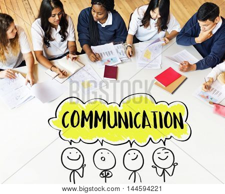 Communication Creative Thinking Ideas Concept