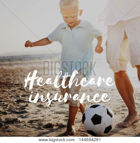 Healthcare Insurance Life Investment Concept