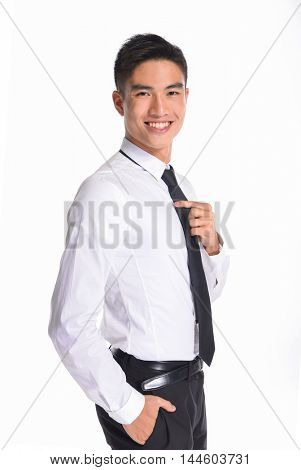 Business young man of Asian, portrait