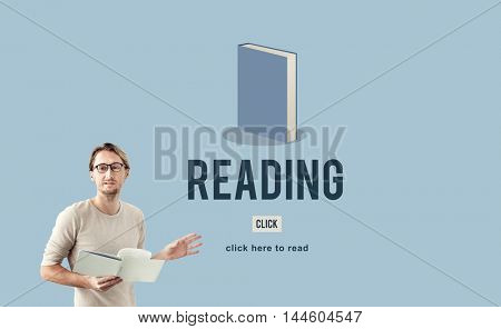 Reading Book Education Academic Knowledge Study Concept