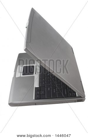 Laptop Half Closed