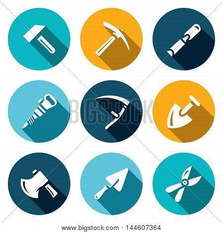 Hammer, Kirk, Chisel, Plugger Scythe Shovel Axe Trowel Pruner
