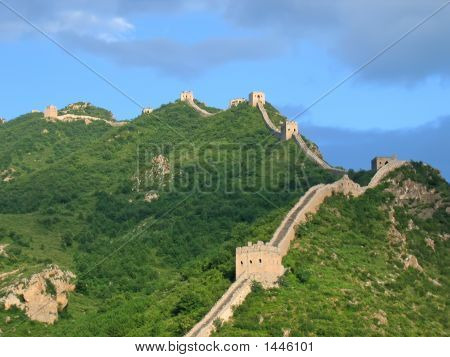 Meanders Of The Great Wall Of China, China
