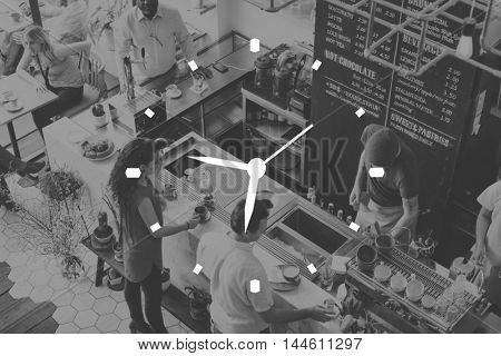 Time Management Clock Timing Punctual Organization Concept