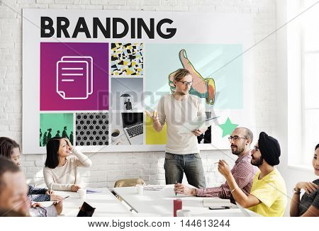 Marketing Achievement Branding Corporate Thumbs Up Concept