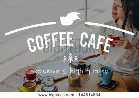 Coffee Cafe Breakfast Chilling Out Concept