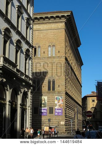 Palazzo Strozzi In Florence