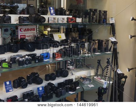 Cameras And Binoculars In Florence
