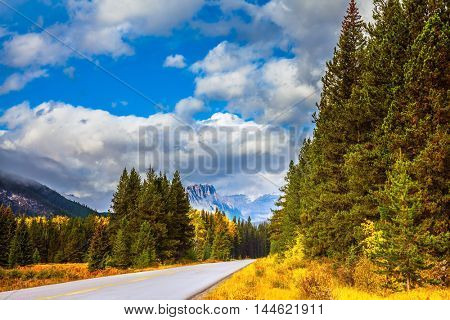 Canada, the Rocky Mountains. Fine