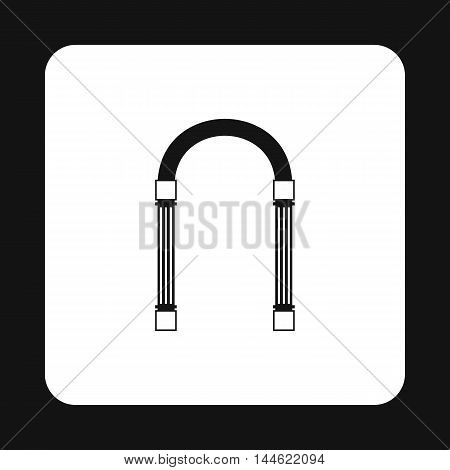 Iron arch icon in simple style isolated on white background. Construction symbol