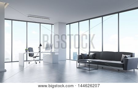 Office With Sofa