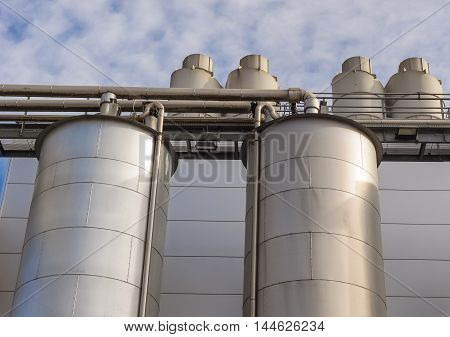 Chemical Plant, Tank