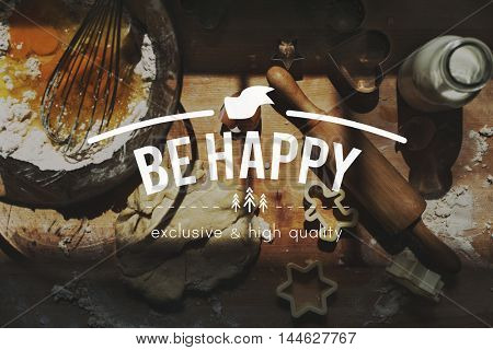 Happy Cheerful Enjoyment Fun Leisure Playful Concept