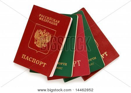 Russian And Uzbekistan Passports