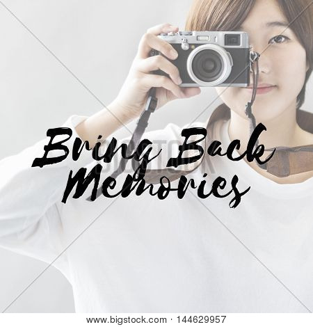 Memories Photo Picture Image Remember Recall Concept