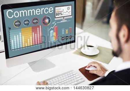 Commerce Retail Shop Buy Sale Market Concept