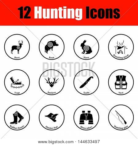 Hunting Icon Set