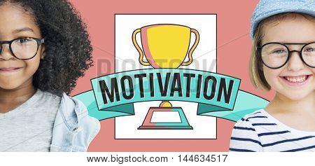 Motivation Accomplishment Success Awards Concept