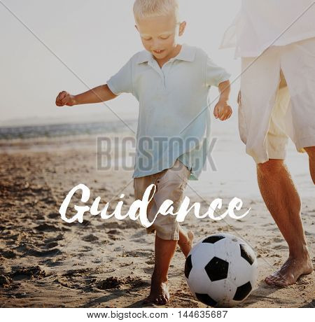 Guidance Holiday Family Happiness Concept