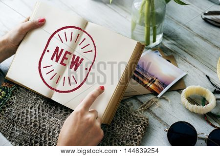 New Creativity Development Modern Graphic Concept
