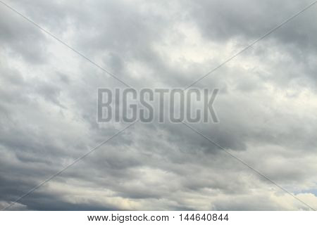 Cloudscape in the evening, Thailand. Can be background or texture.