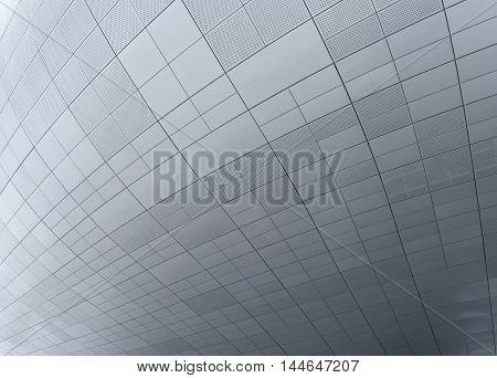 Seoul, South Korea - August 14, 2016: Small Part Of A Ceiling At Dongdaemun Design Plaza In Seoul, D