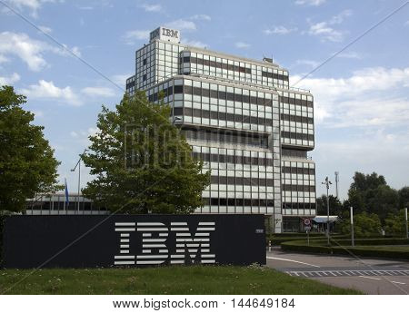 Ibm Building In Amsterdam