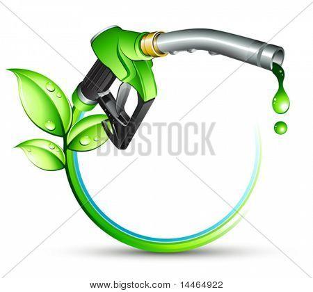 Grüne Gas Pumpe Düse