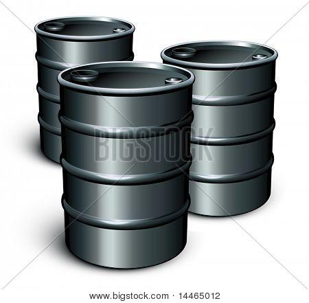 Ölfässern