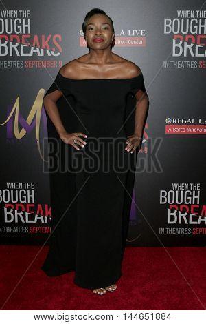 LOS ANGELES - AUG 28:  Rashia Whitlock at the