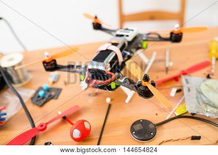Flying Drone installation