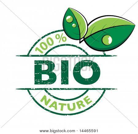 Diseño BIO con hojas