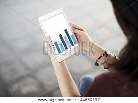 Bar Graph Information Analytics Statistics Concept