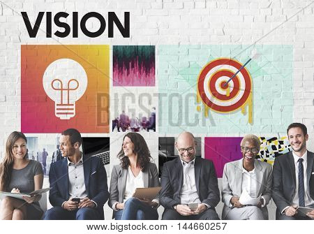 Startup Brand Marketing Vision Concept