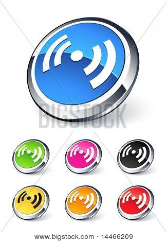 icon music wifi radio
