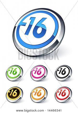icon explicit content -16