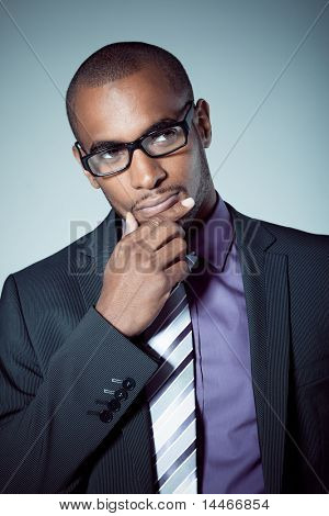 business black man