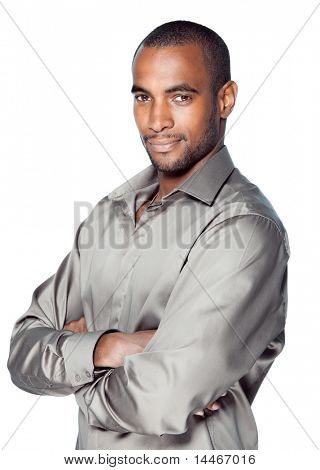 black man beauty portrait