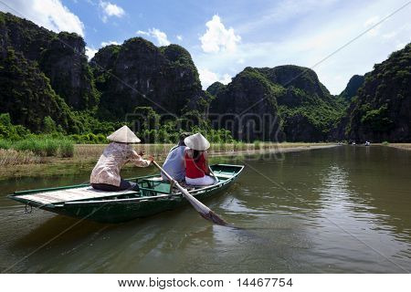 terrestrial halong bay, vietnam
