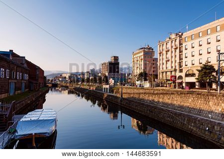 Otaru Canal In The Morning